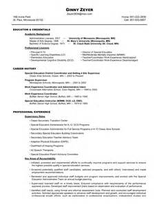 qualifications resume ginny zeyer