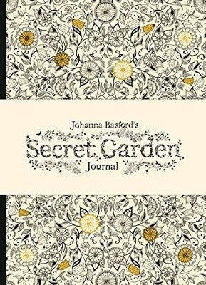 secret garden colouring book waterstones johanna basford s secret garden journal by johanna basford