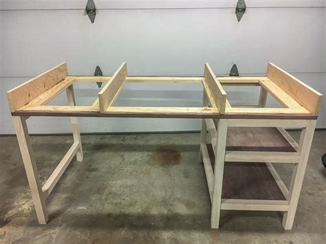 diy modern farmhouse desk plans and