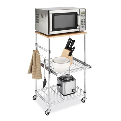 Kitchen Island Microwave Cart | kitchen microwave cart in kitchen island carts