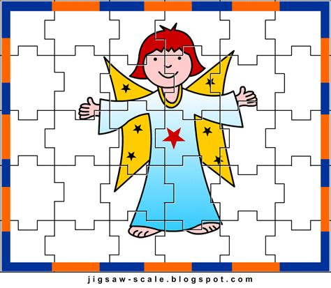 printable jigsaw puzzle for kids bee jigsaw printable jigsaw puzzle for kids angel jigsaw