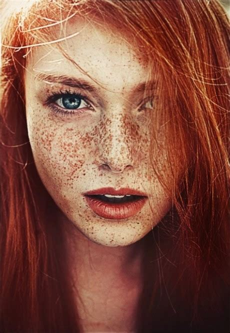 red hair all over natural beauty no makeup skincare beauty models plus