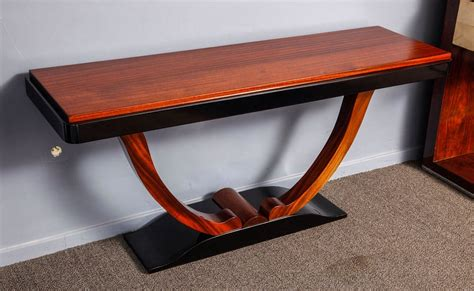 deco table deco console table with u bases modernism