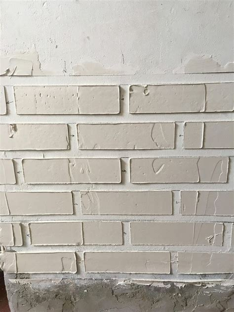 Plaster Of On Wall