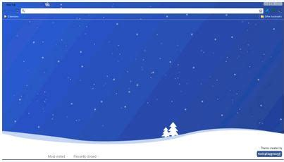 themes for google chrome christmas google chrome christmas theme