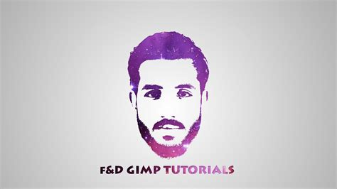 logo design effects in photoshop gimp tutorial galaxy logo from face photoshop