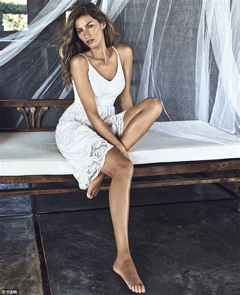 Hm Summer Make Up Range by Gisele Bundchen S Sizzling Swimwear Shoot For H M Revealed