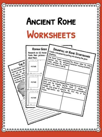 ancient worksheets food facts worksheets what did the romans eat