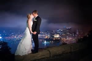 Kristen & John   Pittsburgh in the Rain   Wedding