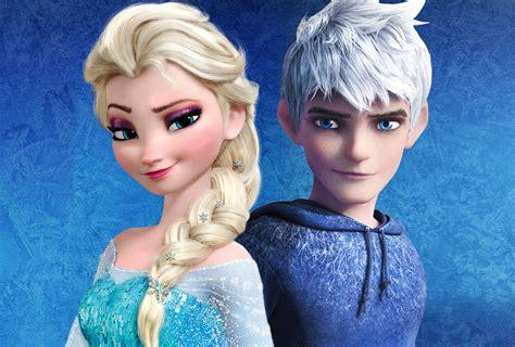 film elsa and jack frost jack frost et la reine des neiges