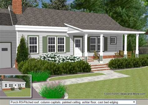 front porch 45 great manufactured home porch designs
