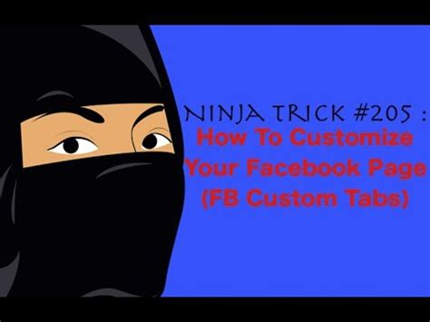 customize fan page how to customize your fan page custom