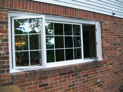 basement awning window basement casement window