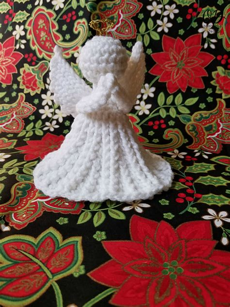 pattern for christmas angel crochet patterns galore christmas angel