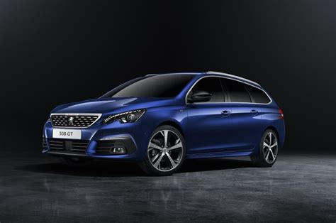 peugeot wagon 2018 peugeot 308 revealed tweaked design more tech