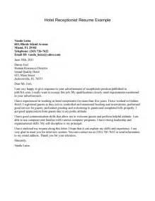 resume templates for hotel receptionist 1 hotel receptionist resume sample