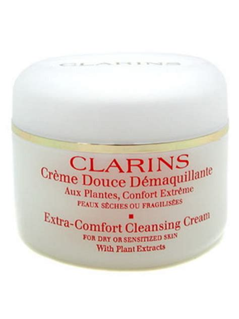 how to use clarins extra comfort cleansing cream clarins bio ecolia extra comfort cleansing cream 200ml 6