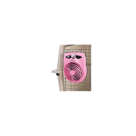 dog crate fan system pro select pink thermostatic dog crate fan pro