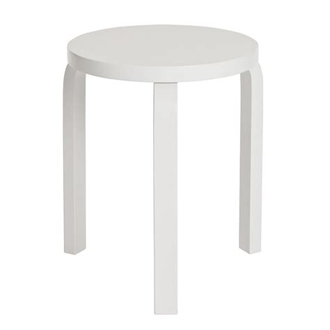 alvar aalto sgabello artek sgabello aalto 60 laccato bianco design shop