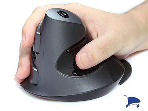 Mouse Vertical mouse vertical laser ergon 244 mico 3d usb 1600 dpi delux