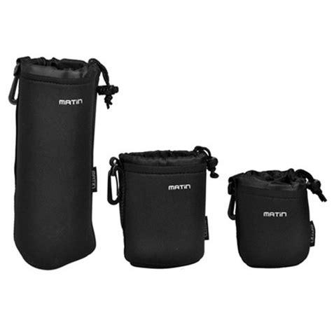 Lens Pouch Matin Xl matin neoprene soft waterproof lens pouch bag set size xl m s 3 pcs