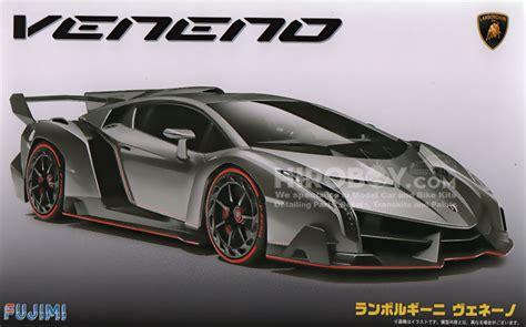 Lamborghini Veneno Monthly Payment 1 24 Lamborghini Veneno Model Kit C W Engine Detail Fuj
