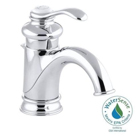 kohler fairfax bathroom faucet kohler fairfax single single handle low arc bathroom