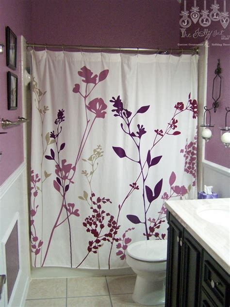 dark purple shower curtain best 25 dark purple bathroom ideas on pinterest purple
