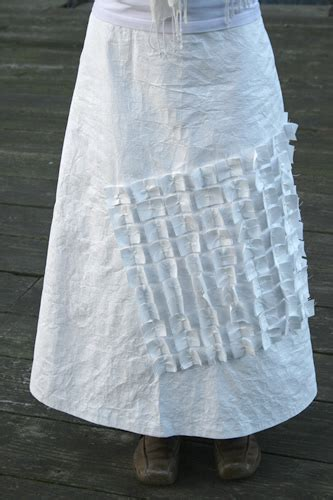 How To Make A Paper Skirt - hazell gallery the paper skirt