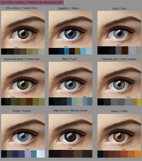 what color are my the gallery for gt hazel eye color chart