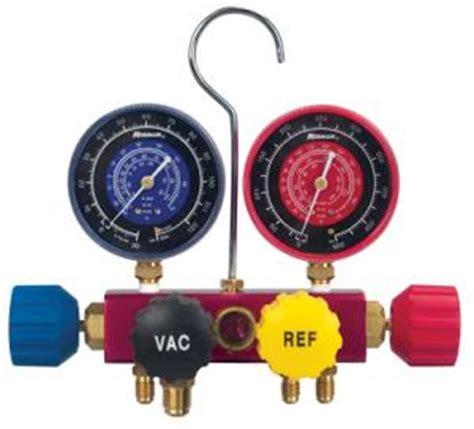 Manifold Robinair robinair 42240 4 way charging manifold with gauges