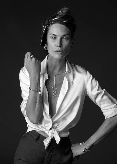 Heike Grebenstein Model Turns Jewelry Designer by Wasson Jewelry 2016 Collection