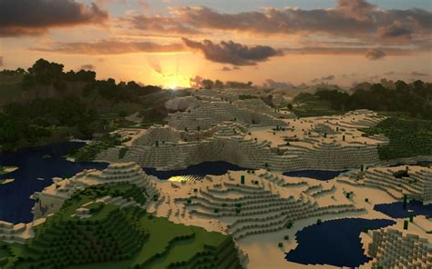 wallpaper craft nature minecraft 2560x1600 wallpaper nature sunsets hd desktop