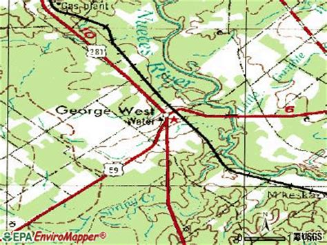 george west texas map george west texas tx 78022 profile population maps real estate averages homes