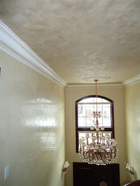 metallic plaster in ceiling venetian plaster walls