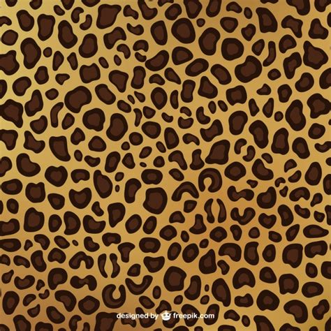 printable vector images leopard print pattern vector free download
