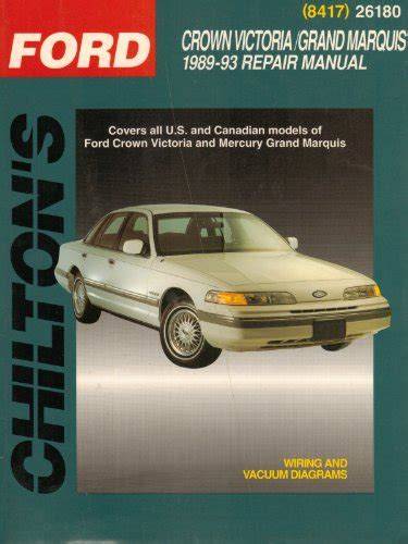 chilton car manuals free download 1989 ford thunderbird windshield wipe control free kindle etextbooks ford crown victoria grand marquis 1989 93 chilton s total car care
