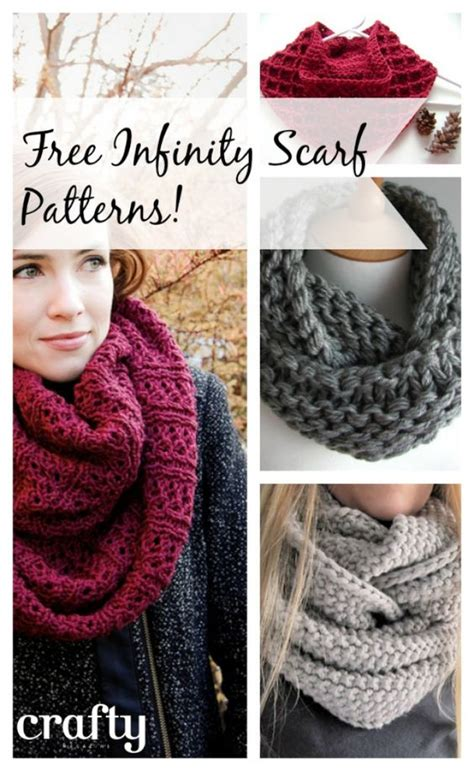 knitting pattern eternity scarf free free patterns to knit and crochet infinity scarf