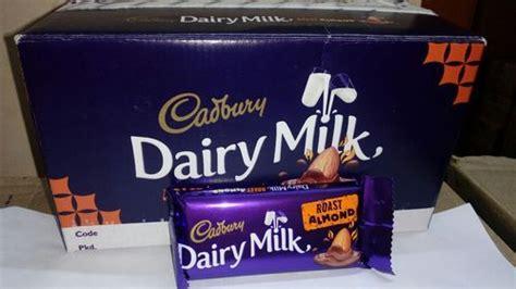 bar cadbury dairy milk chocolates rs  piece vivi