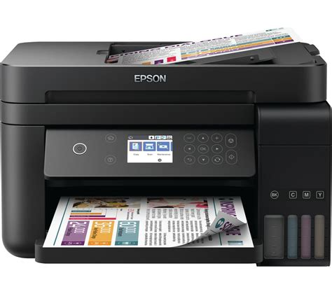 Printer Epson epson ecotank et 3750 all in one wireless inkjet printer deals pc world