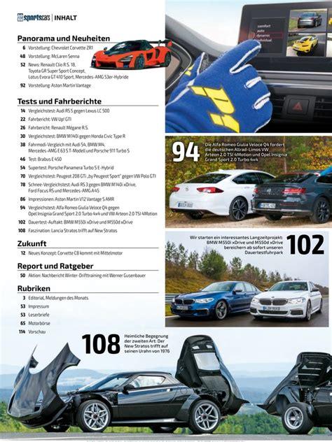 Auto Bild Sportscars Zeitschrift by Auto Bild Sportscars Zeitschrift Als Epaper Im Ikiosk Lesen