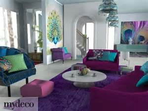 peacock colored living room decor for the home