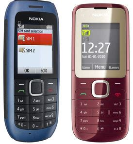 Hp Nokia 2 Sim Card Termurah nokia c1 dual sim card mobile phone 2012