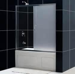 infinity sliding bathtub door bathroom glass tub doors