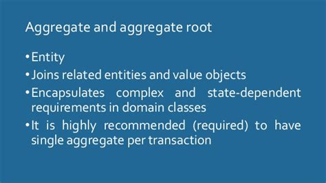 repository pattern aggregate root how does ddd work