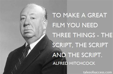 film quotes by famous directors alfred hitchcock quotes