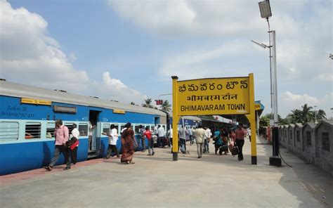 Panoramio   Photo of Bhimavaram town Rly station