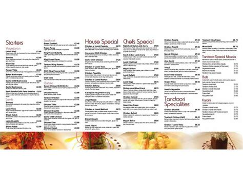 dining room st takeaway menu dining room indian restaurant on wanlip leicester everymenu