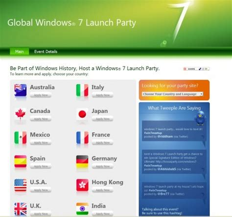 windows 7 house party host a windows 7 launch party and get windows 7 ultimate for free ghacks tech news