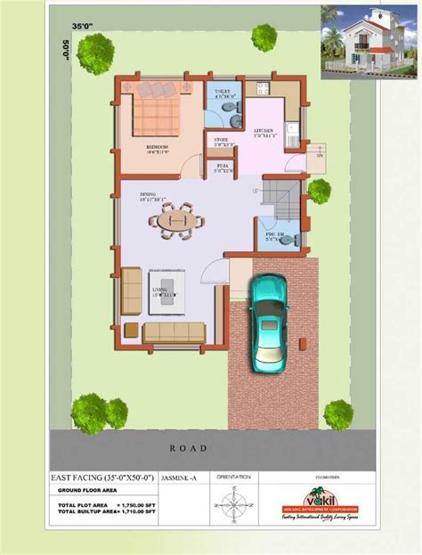 2 bhk house plans east facing pictures also enchanting at